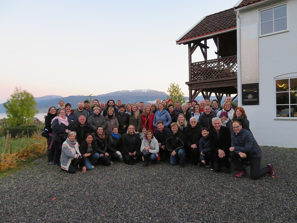 2nd International Economusee Network Conference visiting Ciderhuset in Balestrand, Norway October 18, 2017